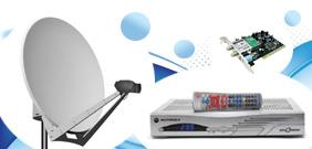 Satelitní digitální příjem DVB-S/S2